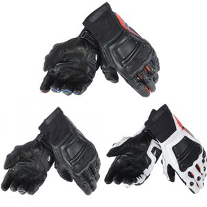 New 3 Colors 100% Genuine Leather Dain Race Pro In Motorcycle Gloves M1 Racing Driving Motorbike Original Short Gloves
