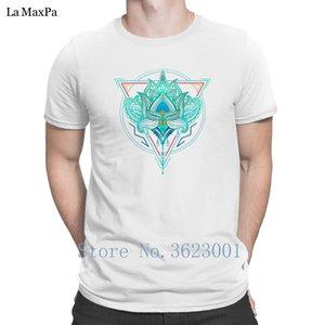 Hayat ise Üçgen Erkek T Shirt Fun İlkbahar Sonbahar Tişört Çılgın Trend S-3XL Of Custom Süper Tişörtler Lotus The Flower