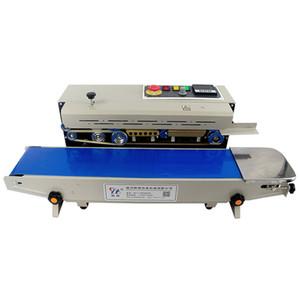 FR-770 Yatay Otomatik Kapama Makinesi Plastik Poşet Ambalaj Makinası Sürekli Bant Sealer Otomatik Sızdırmazlık Paketleme Makinası