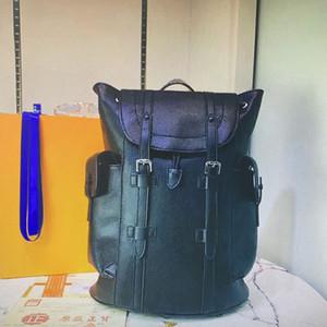 M43735 luxurys luxurys designers bags Leather Backpacks Shoulders Handles Outdoor Travel Men on foot Large Capacity Backpack