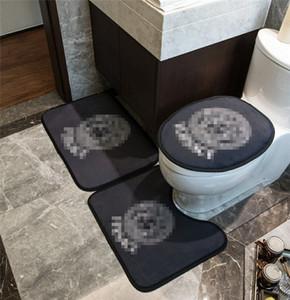 Trend Cover Designer sedili WC Posti Interni Suits Porta Mats U Mats Eco Friendly Bagno Accessorie spedizione gratuita