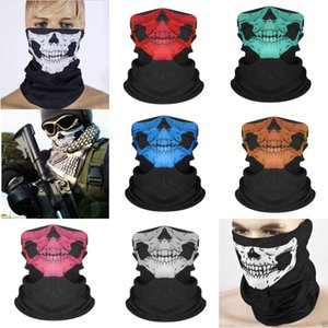 Волшебные бесшовные 100P # 123 Bicycle Mask Carrf GGA174 бесшовные лица лица открытый мотоцикл шеи охотничьи полотенце скелетная маска многофункциональный GDVK