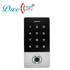 125khz metal waterproof ip 68 smart card standalone rfid fingerprint access control systems