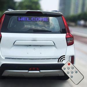 영어 스크롤 메시지 디스플레이 보드 화면 자동차 액세서리를 이동 2020 새로운 12V 자동차 LED 프로그램 로그인