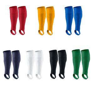 Unisex Soccer Socks Breathable Knee High Compression Socks Non-Slip Stirrup Tube Outdoor Sports Training Running