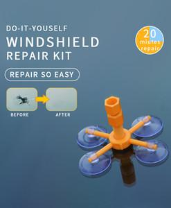 Nuovo Parabrezza Fix Tool Set di vetro Parabrezza Riparazione riparazione parabrezza kit di riparazione degli strumenti della finestra di vetro di lucidatura Set