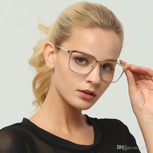 الأزياء مربع النظارات البصرية الإطار النساء الرجال مسح إطار النظارات الطبية وصفة طبية نظارات هلالية UV400 L46