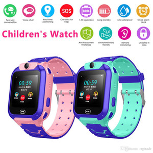 INS New Children's Multi-function Watch Intelligent Positioning Watch GPS Tracker SOS Call GSM SIM Christmas Children's Gift