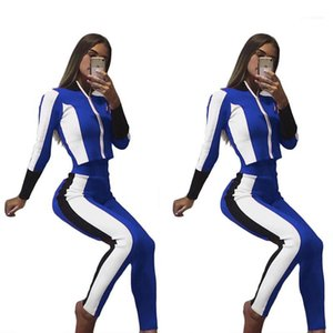 Sets Pantalones Casual Suits Women Fall Tracksuits Autumn Sports 2pcs Tops Pants Clothing