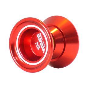 Unresponsive YOYO N5 Alaşım Profesyonel Yo-yo 1A 3A 5A Dize Trick Play için - Kırmızı