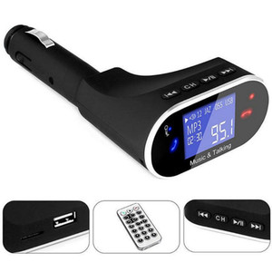Retro Design Bluetooth Car Kit MP3 Player FM Transmitter Wireless Radio Adapter USB Charger Car Accessories