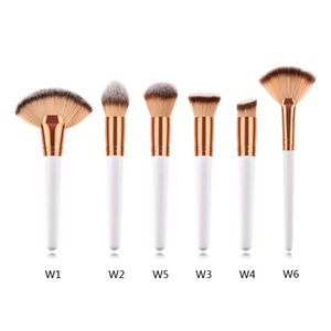 1PC Makeup Brush Loose Powder Brush Eyeshadow Concealer Fan Cosmetic Kit