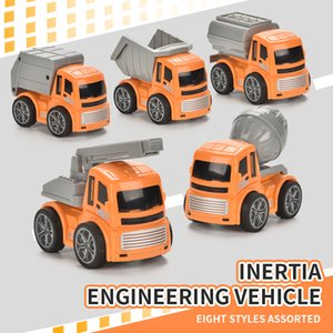 Children entertainment inertia engineering vehicle set puzzle enlightenment high quality toy gift car both boy and girl