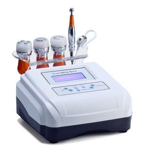 5 em 1 EMS Eletroporação Anti-envelhecimento RF beleza máquina Beauty LED pele do rosto dispositivo de elevação de refrigeração Aperte Eye Pele Ferramenta de Cuidados