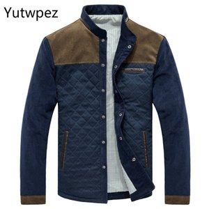 Yutwpez Spring Autumn Men's Jacket Baseball Uniform Slim Casual Coat Mens Brand Clothing Fashion Coats Male Outerwear SA507