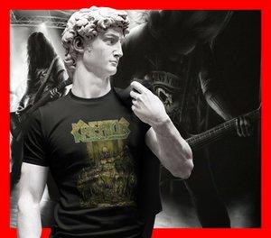 Kreator Erkekler Tişörtlü Threahs Metal Band Tee Gömlek Voivod Exodus Sodom Coroner 8