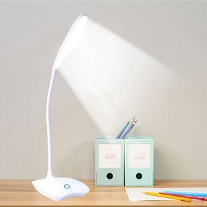 Desk Lampade a LED Lampada da tavolo ricaricabile Desk Lamp studenti studio condotto da ufficio Table Top lanterne per la lettura Ufficio tavolo a LED