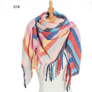 Free Shipping New style Full Time Tassel Square Scarf women's Shawl scarf 5PCS  lot Size(110X110cm)