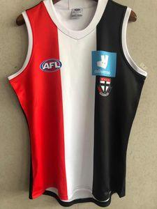 2021 Bombers AFL jersey Essendon Adelaide Crows costa ocidental das águias St Kilda Saints GWS Giants GUERNSEY Rugby Jerseys singlet