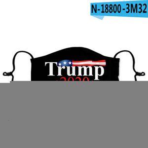 Facemasks eleição presidencial Red embalados individualmente Máscara Trump Proteção Moda Rosto tapaboca Us Online mais barato Hk