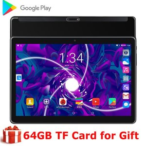 Original Dual SIM Phone Call 10 Inch Tablet PC Android 9.0 1280*800 IPS Tablets 10.1 Inch Kids Tablets Google play WIFI GPS CE