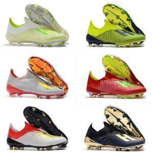 2020 New X 18.1 18+ FG Mens Soccer Football Shoes Salah Jesus 19+x SKELETALWEAVE Outdoor Sport Boots Trainers Sneakers Cleats Size 39-45