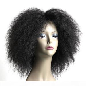 Afro Kinky Curly Hair Short BOB Human Hair Capless Wigs 2#Color Virgin Hair Bob Short Wigs For Black Women