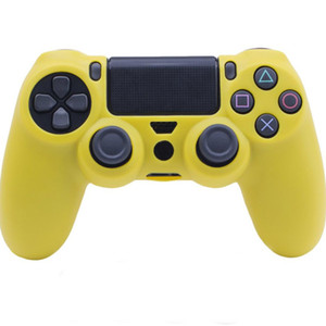 Soft Silicone Case For PS4 Slim Controller Flexible Gel Rubber Skin Case Cover For Sony Playstation 4 Game Controller Accessory