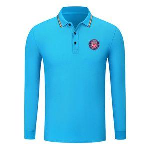 Toulouse FC 2020 Men's Long Sleeve Shirt Fashion Sports Football Polo POLO Shirt Trend High Lapel POLO Business Shirt