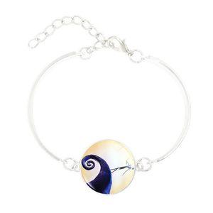 Cross-border new Christmas Eve series time gem silver bracelet bracelet bracelet DIY handmade jewelry custom