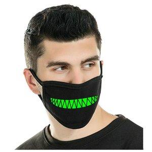 Máscaras Genuine boca de pó fluorescente fluorescente Luminous Zoylink Unisex Um projeto Nas Máscaras Máscaras de Qualidade Zoylink produtos yxlOl xhqhlady