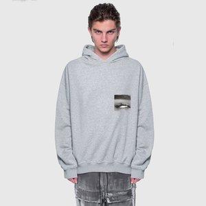 Mann Designer Kleidung 2020 20SS Eye Foto Printed High Street Hoodys Einfache beiläufige lange Hülsen-Pullover Männer Frauen Hoo
