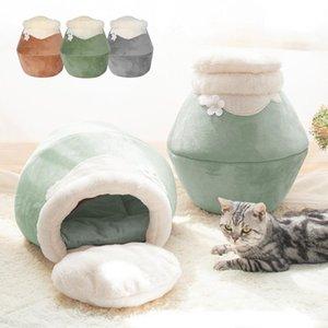Warm Cat B Casa inverno del cucciolo dell'animale domestico della stuoia del gatto Gatti cuscino gattino dormire Nest Kennel molle dell'interno Pet Blanket Prodotti