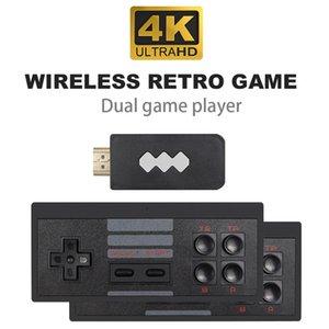 أحدث 4K HD-خارج لعبة فيديو لاعب لاسلكي محمول لعبة المقود HDTV 818 ريترو العاب كلاسيكية لاسلكي محمول أنظمة تشغيل أطفال هدية