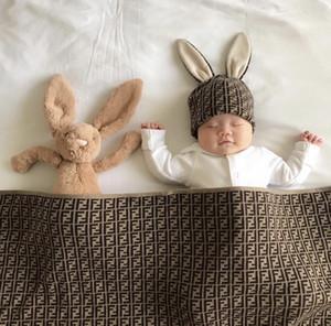 O envio gratuito de Meninos Meninas malha Blanket swaddles macias recém-nascidos Cobertores infantil colcha SleepSack 95x95cm Stroller cobertura Mat