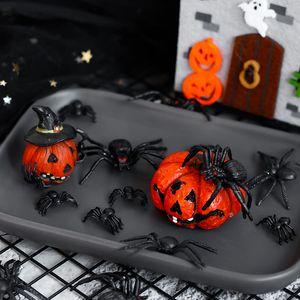 castillo araña feliz de la torta de Halloween Trick or Treat de fiesta Postre Decoración