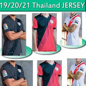 2020 2021 Rayo Vallecano camiseta de Fútbol maillot de football 20 21 Accueil Vallecas maillot de pied loin Troisième Hommes + enfants Football Jersey THAILANDE
