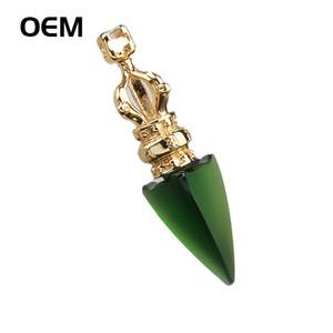 Gli uomini gioielli in vetro Gioielli SANMANTUO religiosi Vajra dell'annata del pendente della collana delle donne e