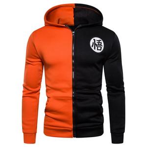 3D Zipper Hoodies Hooded Sweatshirt Casual Cotton & Polyester Hoodies Jackets