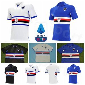 20 21 Futebol Sampdoria 23 Manolo Gabbiadini Jersey 27 Fabio Quagliarella 11 Gaston Ramirez 6 Albin Ekdal JANKTO Ekdal Futebol shirt Kits