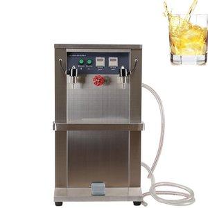 Máquina de llenado de líquido de doble cabezal eléctrico de la mejor venta Máquina de llenado de líquido vertical de acero inoxidable Máquina de llenado de líquido 220V