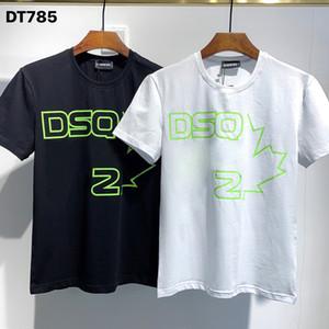 DSQ Phantom Kaplumbağa 2020ss Yeni Erkek Tasarımcı T Gömlek İtalya Moda Tişörtleri Yaz Erkekler DSQ T-Shirt Erkek En Kaliteli 100% Pamuk Top 3985