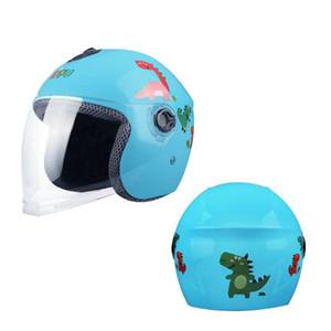Capacete Casco Moto Crianças Windproof Touring Motorbike Scooter Helmet Capacetes Para Moto Elétrica Capacetes de bicicleta