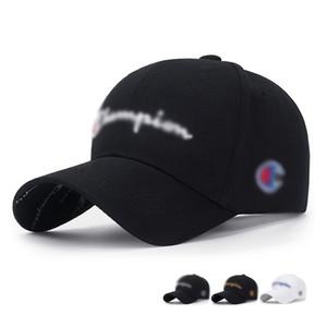 Visiera di e donne semplici Sports Cap Uomo Casual berretto di cotone traspirante lettere del ricamo 3D di misura adattabile e lavabile