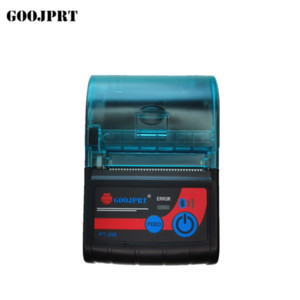 Portable Mini Bluetooth Printer Wireless Thermal Receipt Ticket Printer For Mobile Phone Window 58mm 50paper 2inch Machine