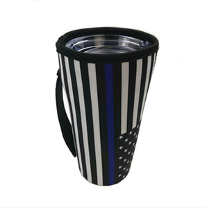 Beyzbol Tumbler Taşıyıcı Tutucu Kılıfı Neopren Yalıtımlı Kol Çanta Kılıf 30 oz Tumbler Coffee Fincanı Ile Taşıma Kolu HWA1164