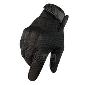 Motorrad-Handschuhe Echtes Lammfell Lederquerfeldeinreiten Motorrad volle Finger-Handschuhe Retro Motocross-Handschuhe Guantes Moto