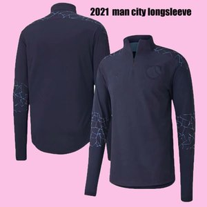 2020 2021 man training suit soccer jersey set 2020 2021 CITY training suit kit tracksuit set with long pant