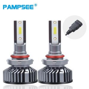 9005 3 LED Headlight Bulb H4 LED H11 H3 H8 H1 H7 9006 4 H27 881 with DOB Chips 8000LM 6500K 72W 12V Auto Fog Light Car Lamp