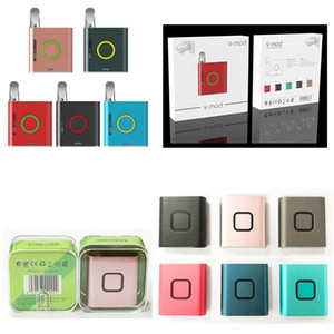 Authentic Vmod Vmod II 900mah Vape Box Mod 510 Thread Battery With Magnetic Adapter for Thick Oil Cartridges Vaporizer